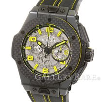 휘블로 (Hublot) Big Bang Ferrari Chronograph Carbon Bezel...