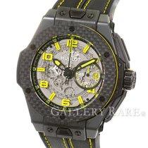 Hublot Big Bang Ferrari Chronograph Carbon Bezel Titanium 45MM