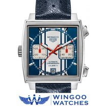 TAG Heuer MONACO VINTAGE BLUE STEVE MCQUEEN Ref. CAW211D.FC6300
