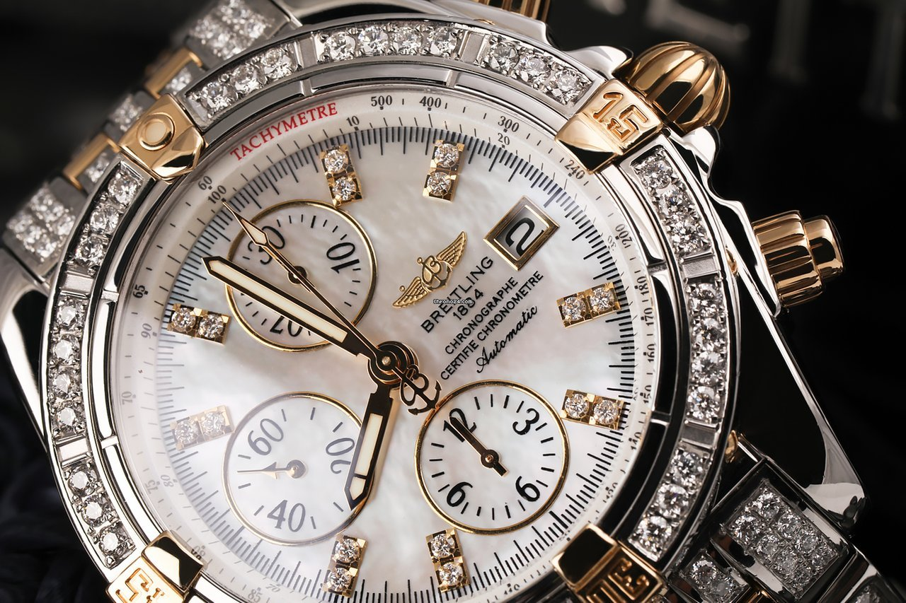 watch sale xxl a htm evolution pearl diamond mother windrider tone of breitling for dial on two trusted from seller