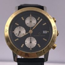 Eterna-matic KONTIKI chronograph gold and steel 1501.47 val 7750