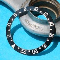 Rolex VINTAGE INSERT BLACK GMT 1675, 16750, 16753, 16758