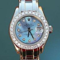 Rolex Ladies President Masterpiece 80319 18k White Gold...