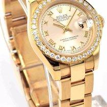 Rolex Ladies DateJust 179168 - 18k Gold Smooth & Diamond...