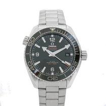 Omega Seamaster Planet Ocean black dial steel