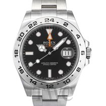 롤렉스 (Rolex) Explorer II Black/Steel Ø42 mm - 216570