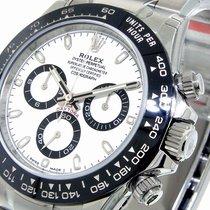 Rolex Daytona 116500ln Ceramic White Dial Stainless Steel...