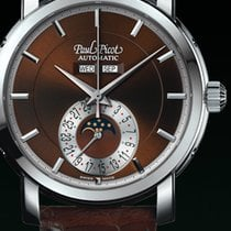 Paul Picot FIRSHIRE  RONDE  moon phase BROWN STRAP SKIN BROWN