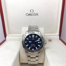 Omega SEAMASTER 300M 2255.80.00 BLUE WAVE DIAL SWORD HAND AUTO