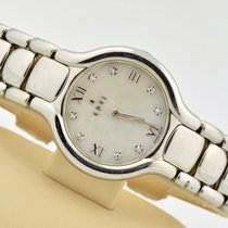 Ebel Beluga White Mop Diamond Dial Stainless Steel Swiss...