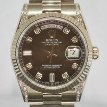 Rolex Day-Date DIAMANTI ORIGINALI ROLEX
