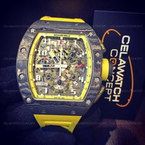 Richard Mille RM011 Yellow Storm Flyback Chronograph Limited...