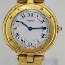 Cartier 18K Yellow Gold Vendome Santos Round Ladies's Watch