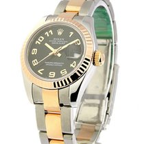 Rolex Unworn 179171 Ladys DATEJUST - RG and SS 179171 - Fluted...