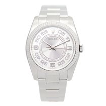 勞力士 (Rolex) Oyster Perpetual White Gold And Steel Silver...
