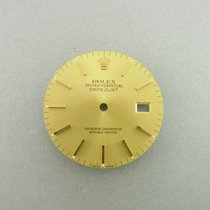 Rolex Datejust 36 Mm Zifferblatt Gold Date Just Dial For Ref....