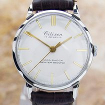 Citizen Parashock Centre Seconds Made in Japan Authentic Watch...