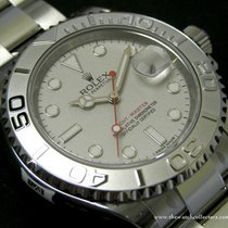 Rolex Modern: Out Of Production Silver Dial Yacht Master Jumbo...