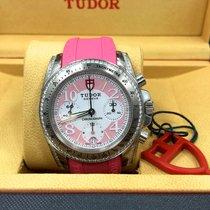 Tudor Pink 20310 Chronograph Diamonds 41mm Watch