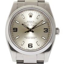 Rolex Air-King 114200 34mm Stainless Steel Silver Index  #1255