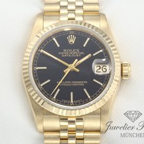 Rolex Datejust Medium Gelbgold 750 Automatik Date Just