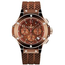Hublot 341.SL.1008.RX 41mm Big Bang Chocolate in PVD Steel -...