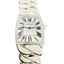 Cartier Ladies Cartier La Dona Large Size 18k White Gold Watch...