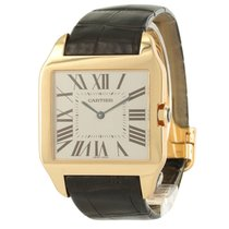 Cartier Santos Dumont 18K Solid Rose Gold