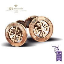 Patek Philippe Calatrava Cross Cufflinks Rose Gold - 205.9089