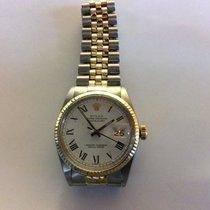 롤렉스 (Rolex) Rolex datejust 36mm atomatic Steel Gold White Dial...