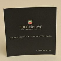 TAG Heuer Calibre 6 RS Manual Info Booklet