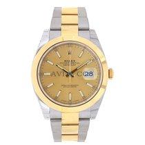 Rolex DATEJUST 41mm Steel & 18K Yellow Gold Watch