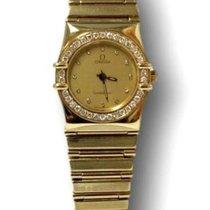 Omega Constellation 18kt Gold Ladies Dress Watch