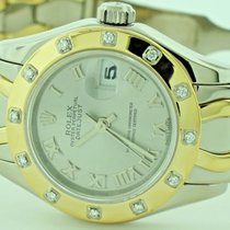 Rolex Masterpiece Pearlmaster 18K Solid Gold Diamond Limited