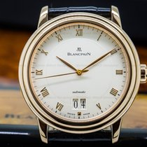 Blancpain 6850-3642-55 Villeret Big Date 18K Rose Gold (25929)