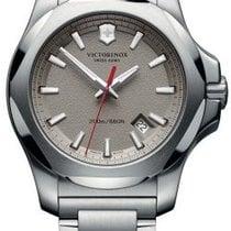 Victorinox Swiss Army I.N.O.X. Dial Grey Steel Bracelet 43mm...