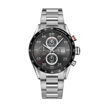 TAG Heuer Carrera 43mm Chrono Date Automatic Mens Watch Ref...