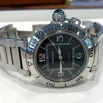Cartier Pasha Seatimer Date Steel Black Dial 40 mm (2005)