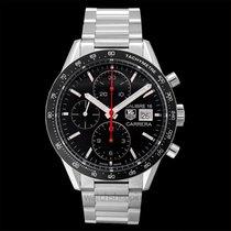 TAG Heuer Carrera Calibre 16 Automatic Chronograph Black Ste