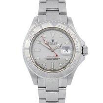 롤렉스 (Rolex) 16622 Yachtmaster Platinum Bezel Steel Watch