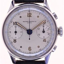Record Mans Wristwatch Chronograph