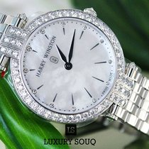 Harry Winston Premier Diamond Mother of Pearl Dial