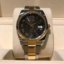 Rolex Datejust 36mm Steel and Gold B&P