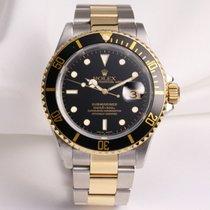 Rolex Submariner 16613 Steel & Gold
