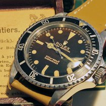 Rolex 5513 submariner with tropical Gilt dial