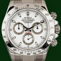 Rolex Daytona Cosmograph 116520 White Dial Box&Papers