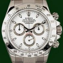 Ρολεξ (Rolex) Daytona Cosmograph 116520 White Dial Box&Papers