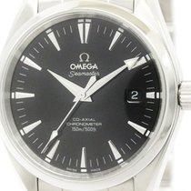 Omega Polished Omega Seamaster Aqua Terra Co-axial Automatic...