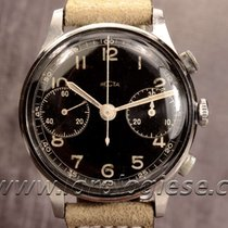 Recta Mono-ratrappante Vintage Steel Chronograph Cal. Valjoux 84