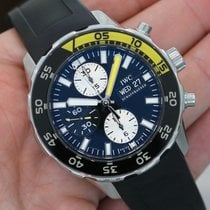 IWC Aquatimer Chronograph Black Yellow Ref. 3767-02 - Iw376702